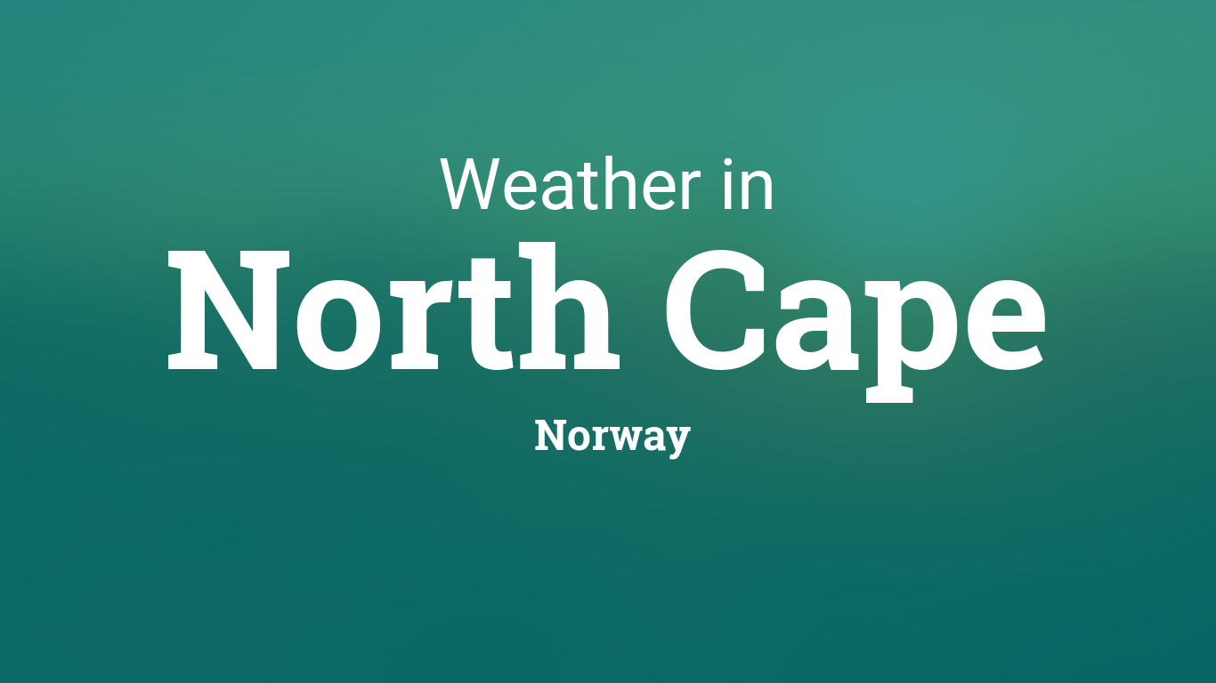 Weather for North Cape, Norway
