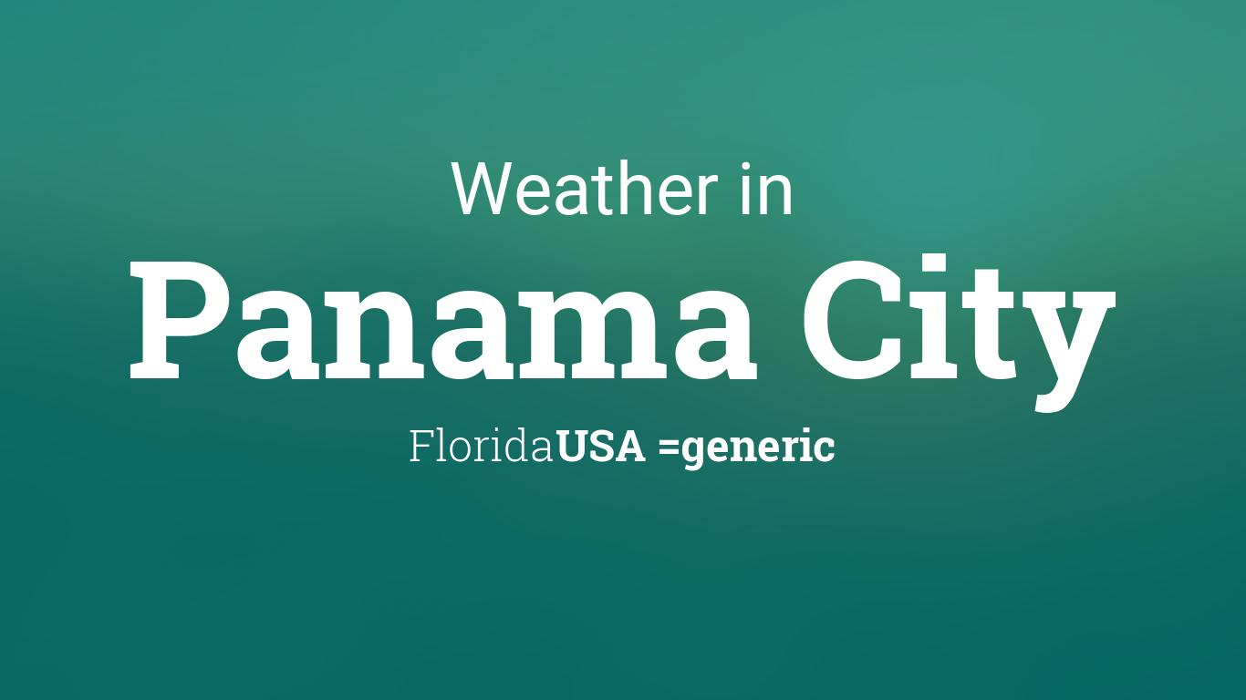 weather for panama city florida usa. Black Bedroom Furniture Sets. Home Design Ideas