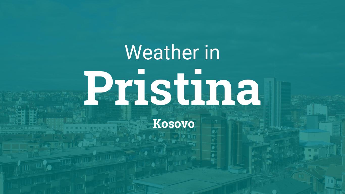 Weather For Pristina Kosovo
