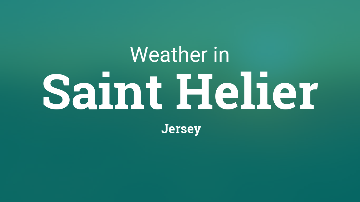 Week Weather Forecast For Jersey Channel Islands