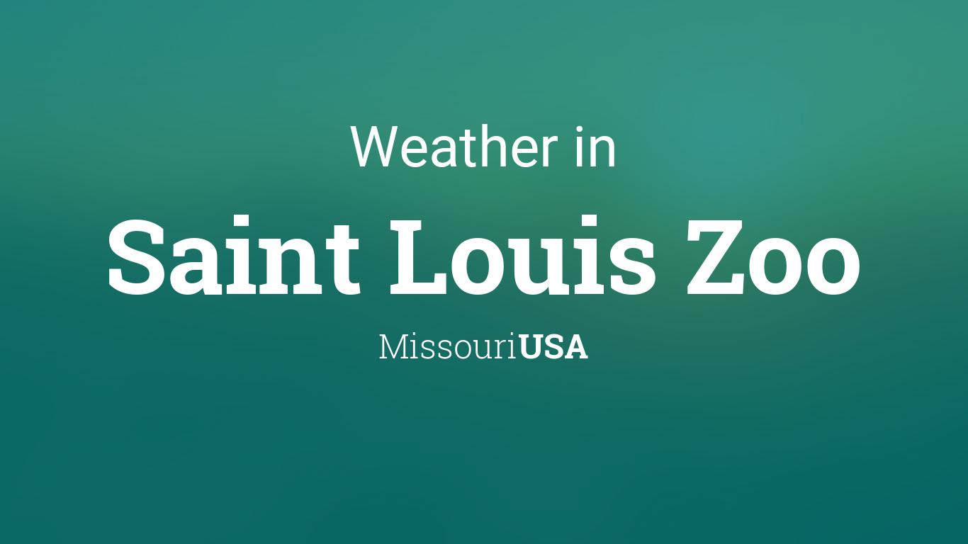 Weather for Saint Louis Zoo, Missouri, USA