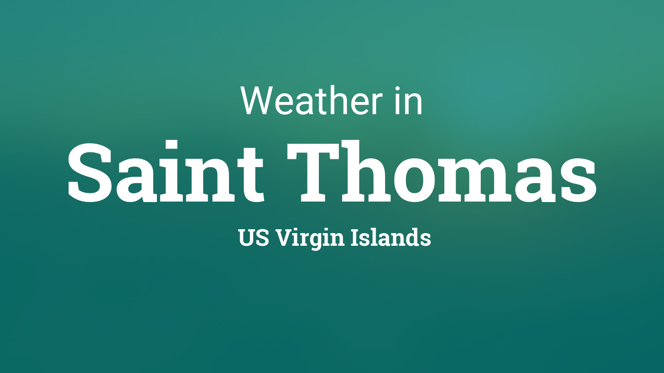 Weather and temperature in virgin islands