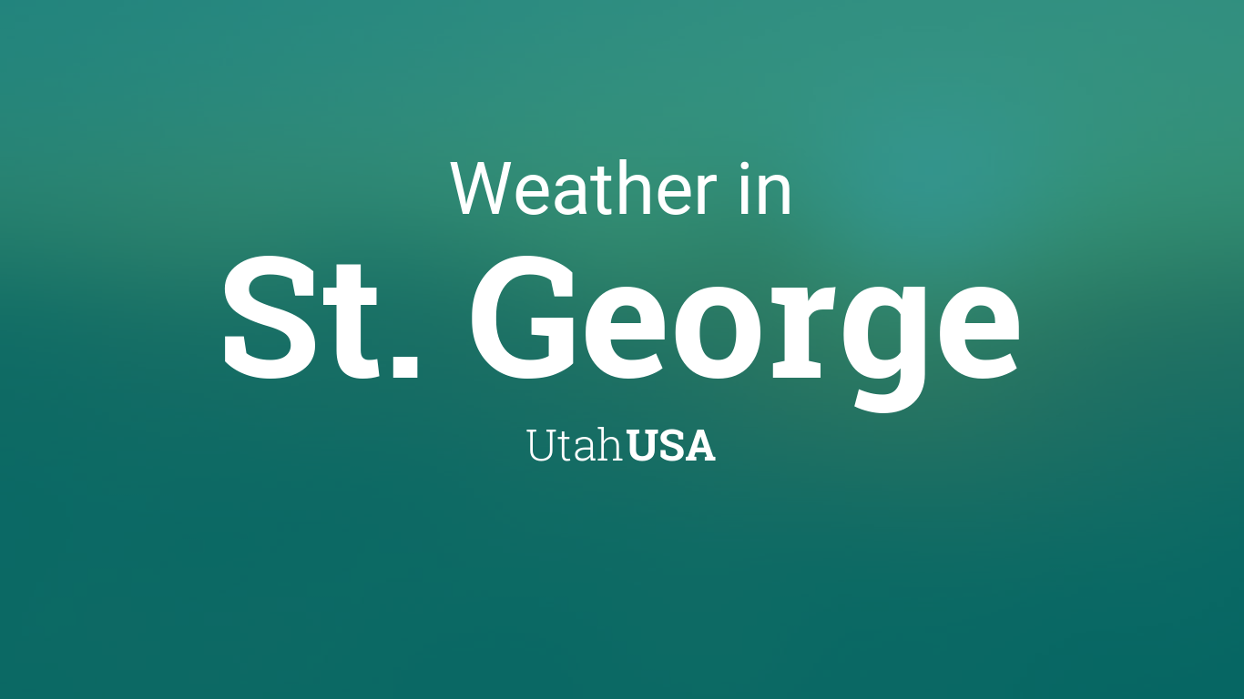 Weather in St George, Utah in December| Dec Saint George ...