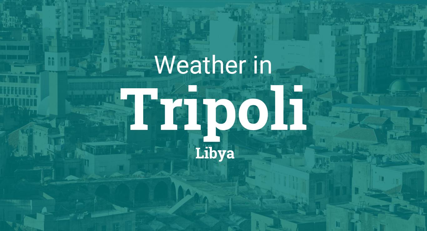 Weather for Tripoli, Libya