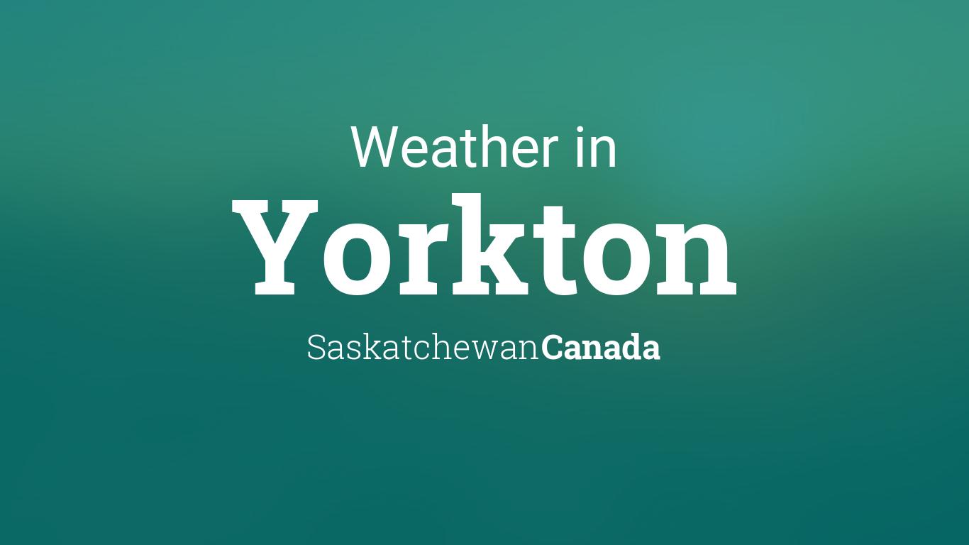 yorkton sk weather