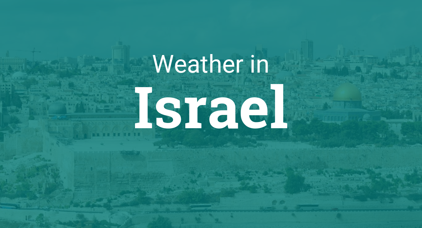 Weather In Israel