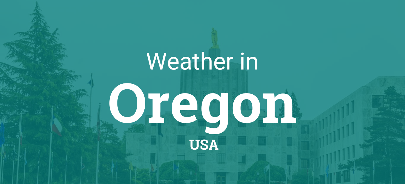 Printable Monthly Calendar With Holidays : Weather in oregon united states