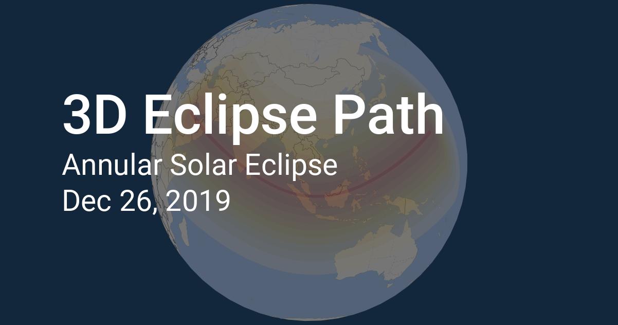 3d eclipse path solar eclipse 2019 december 26