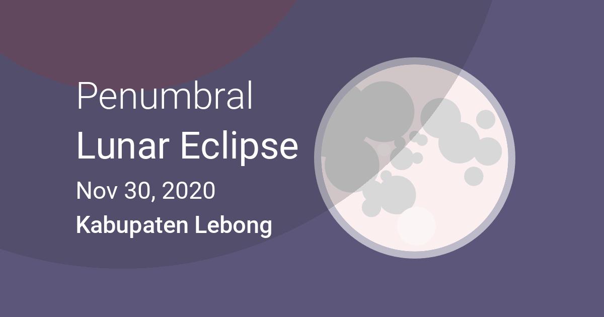Eclipses Visible In Kabupaten Lebong Propinsi Bengkulu Indonesia