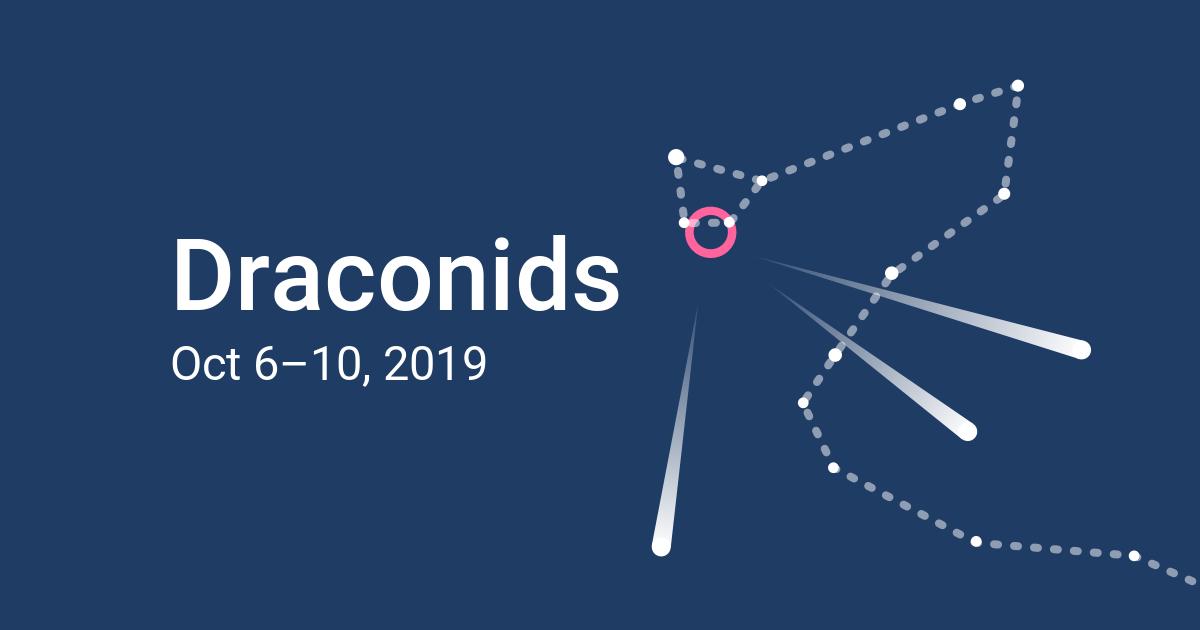 Draconids Meteor Shower 2019