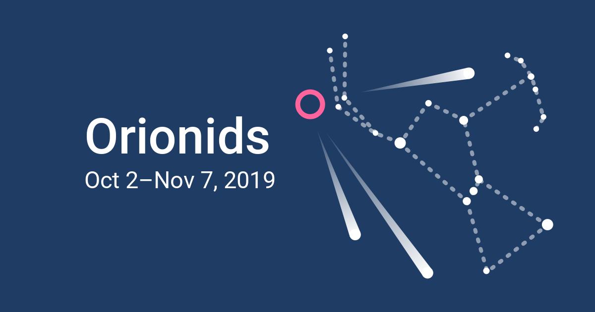 Orionids Meteor Shower 2019