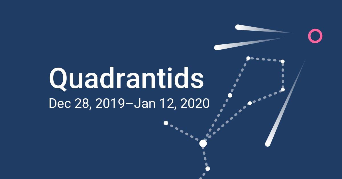Quadrantids Meteor Shower 2020