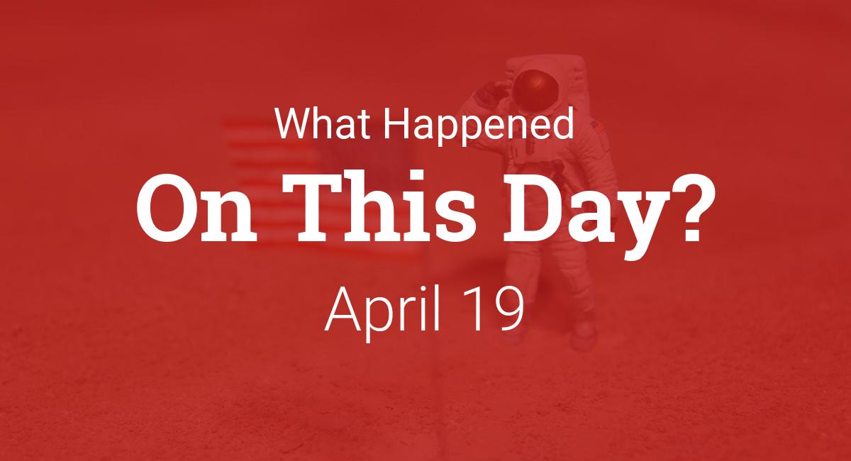 on april 19