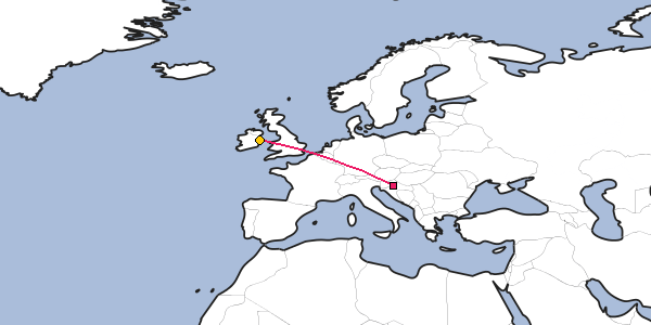 Distance Between Zagreb And Dublin