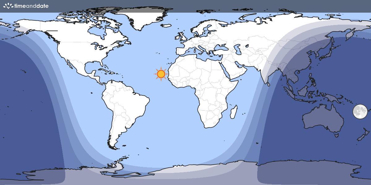 Gece Gündüz Haritası