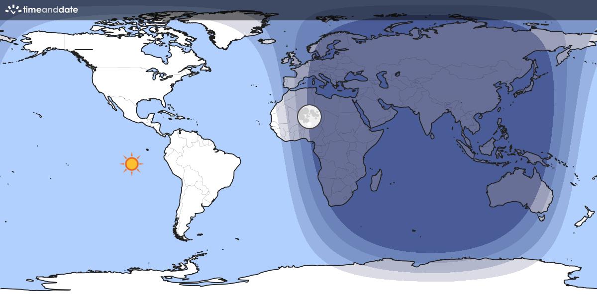 Day And Night World Map - World sunlight map