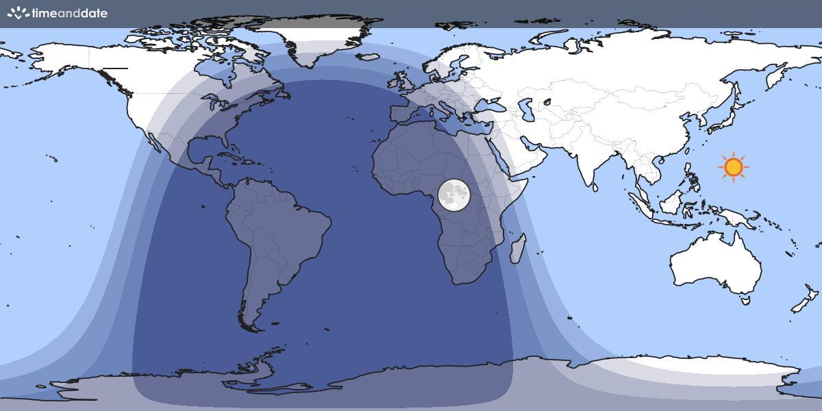 Jour et Nuit World Map
