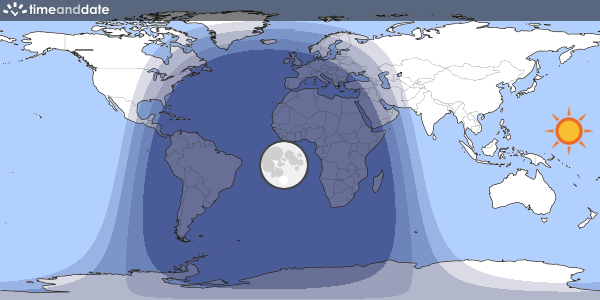 Day and Night World Map