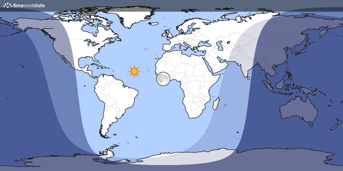 Moon light world map map showing which part of the earth the moon is currently above the horizon at gumiabroncs Choice Image