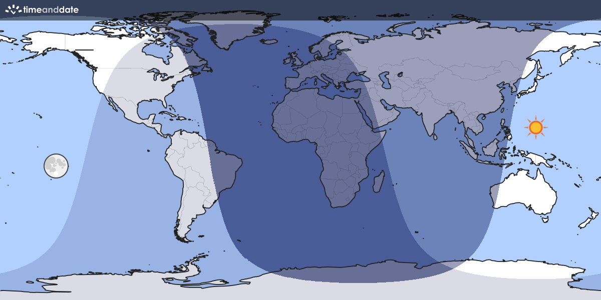 Moon light world map map showing which part of the earth the moon is currently above the horizon at gumiabroncs Images